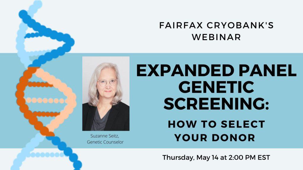Expanded panel genetic screening webinar AD